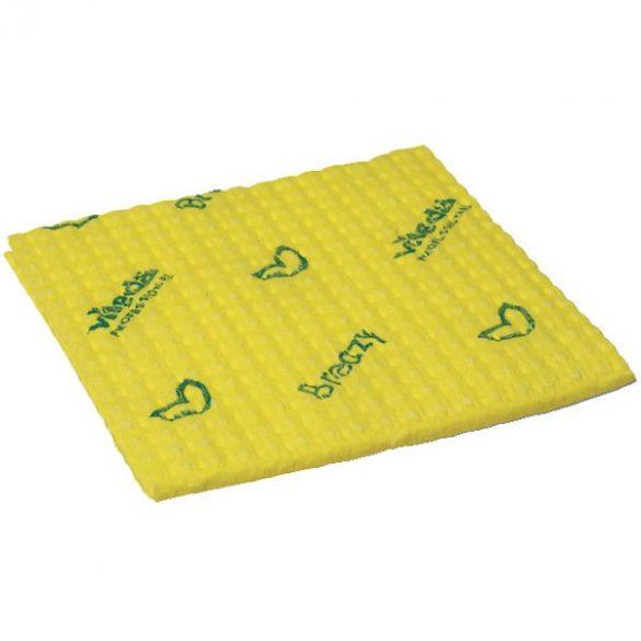 VILEDA Professional Breazy mikroszálas törlőkendő 35x35 cm sárga