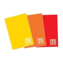 Füzet A/4 42lap kockás 80g One Color 1411
