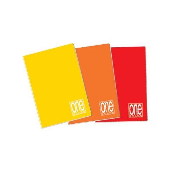 Füzet A/4  42lap vonalas 80g One Color 1413