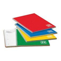 Spirálfüzet A/4 60lap 80g One Color vonalas 1156