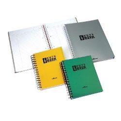 Spirálfüzet A/5 6x25 lap vonalas Notebook PP