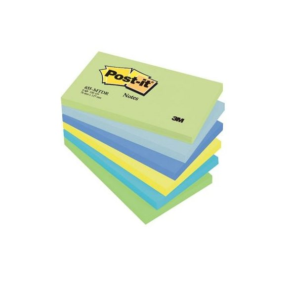 Post-it 655MTDR/655MT 76x127mm 100lap 6tömb