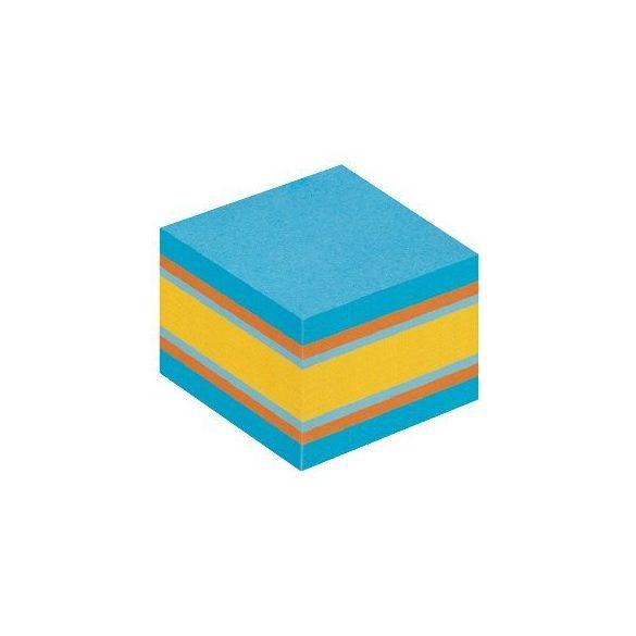 Post-it 2051-B 51 × 51 mm, 400 lap öntap. mini kocka  kiegyensúlyozott színek