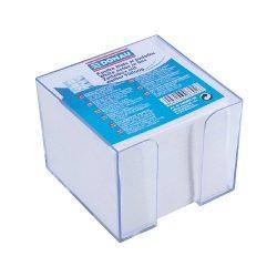 Kockatömb IN BOX fehér nem ragasztott 83x83x75mm/92x92mm DONAU
