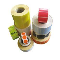 Tekercses öntapadó thermo címke 25x40 mm, 2000db/tek