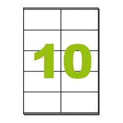 Q-CONNECT Etikett LCJ109 105x58mm 100ív Label 105x57mm KF10658