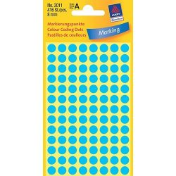 Etikett címke jelölőpont 8mm Avery
