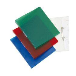 Gyűrűskönyv A/4 4gyűrűs 20mm áttetsző Q-Connect zöld