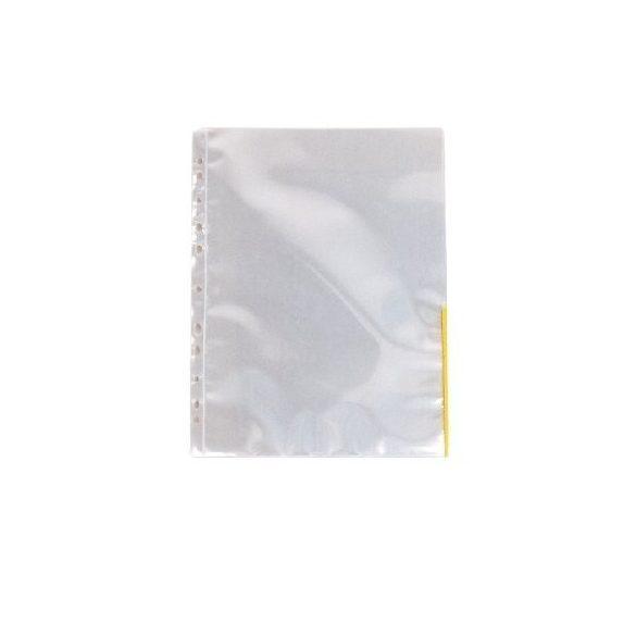Genotherm A/4 lefűzhető színes szélű 105mikron sárga