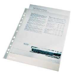 Genotherm A/4 lefűzhető Luxus víztiszta 105mikron 56093