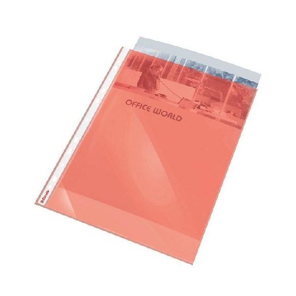 Genotherm A/4 lefűzhető színes 55mn piros
