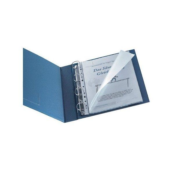 Genotherm A/4 lefűzhető felül és baloldalt nyitott, KF00714 víztiszta 80mn