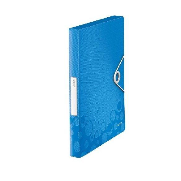 Iratgyűjtő A/4 gumis PP  WOW JUMBO kék