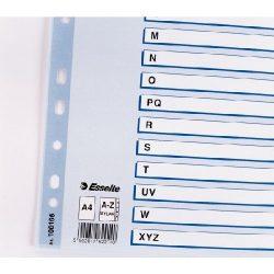 Regiszter A/4 karton A-Z reg. Mylar 100166