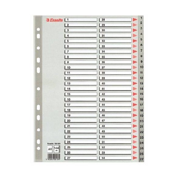Regiszter A/4 1-54 műa. Maxi 100109