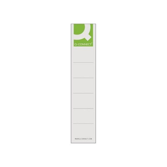 Iratrendező cserecímke 5cm-es iratrendezőkhöz 10db-os Q-Connect KF00774