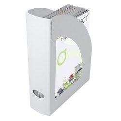 Iratpapucs műanyag Q-Connect fehér