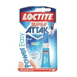 Pillanatragasztó Super Attak Power Easy 3g Loctite