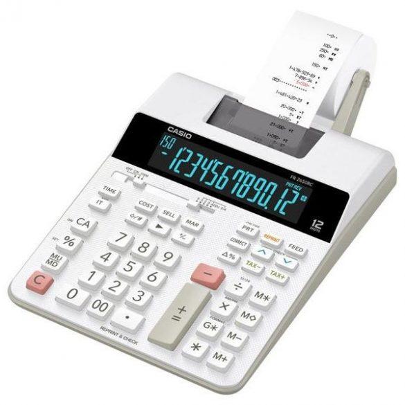 Számológép Casio FR-2650RC szalagos asztali