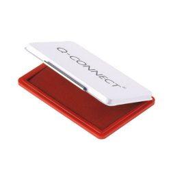 Bélyegzőpárna Q-Connect fém, 110x70mm piros
