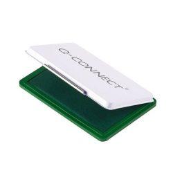 Bélyegzőpárna Q-Connect fém, 110x70mm zöld