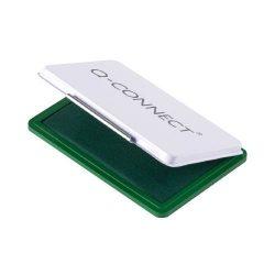 Bélyegzőpárna Q-Connect kicsi, fém, 90x55mm zöld