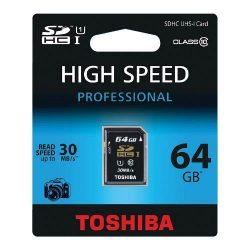 Memóriakártya TOSHIBA SDHC Class 10 8GB