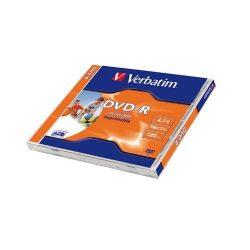 DVD+R Verbatim 4,7GB 16x nyomtatható 43508