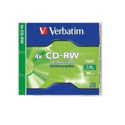 CD-RW Verbatim 700MB 1x-4x 43123