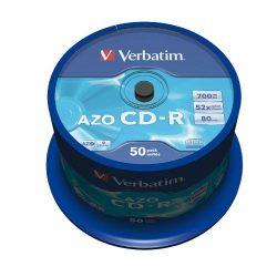 CD-R Verbatim 700MB 52x 50db/henger 43343
