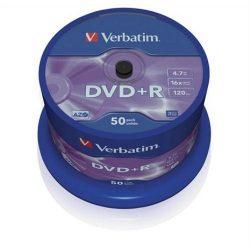 DVD+R Verbatim 4,7GB 16x 50db/henger 43550