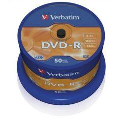 DVD-R Verbatim 4,7GB 16x 50db/henger 43548