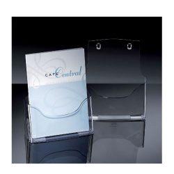 Prospektustartó A/4 1részes asztali Sigel LH110