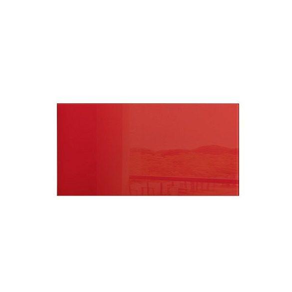Üvegtábla mágneses 910x460x15 mm piros