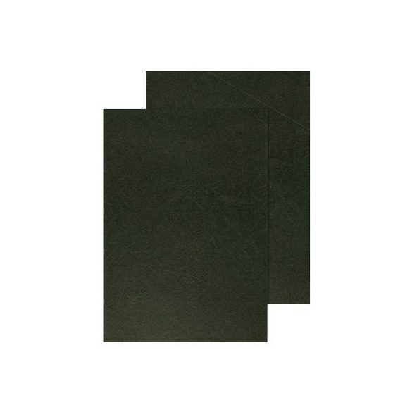 Spirálborító hátlap A/4 matt bőrmintás 336..