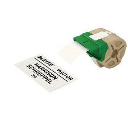Címke etikett ICON, folyamatos, 57mm, nem öntapadós papír 70050001