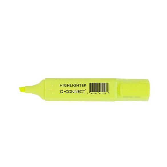 Szövegkiemelő Q-Connect citromsárga