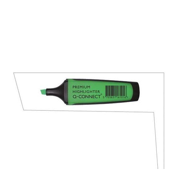 Szövegkiemelő Q-Connect Prémium sötétzöld