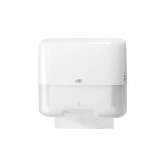 TORK műanyag mini Z és C hajtogatású kéztörlő adagoló, fehér (H3 rendszer)