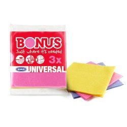 Bonus általános törlőkendő 3db univerzális