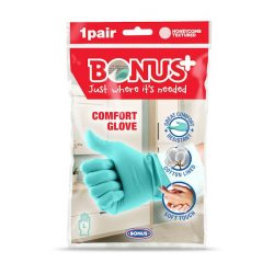 Bonus komfort gumikesztyű L