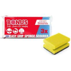 Bonus mosogató szivacs 3 db-os