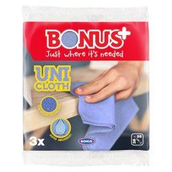Bonus+ Uni kendő 3db