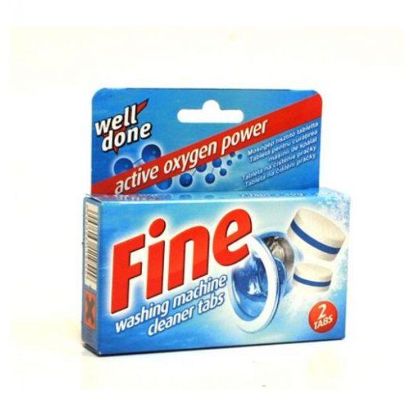 Well Done Fine mosógéptisztító tabletta 2db