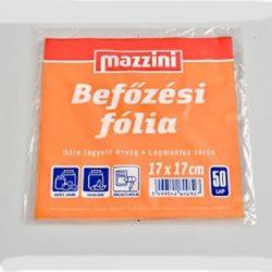 Mazzini befőzési fólia 17x17cm 50lap