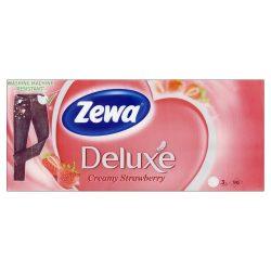 Zewa Delux papírzsebkendő 90db-os Green Mint