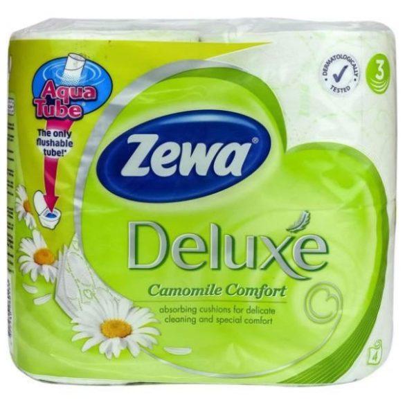 Zewa DELUX toalettpapír 4TK kamilla 3rétegű