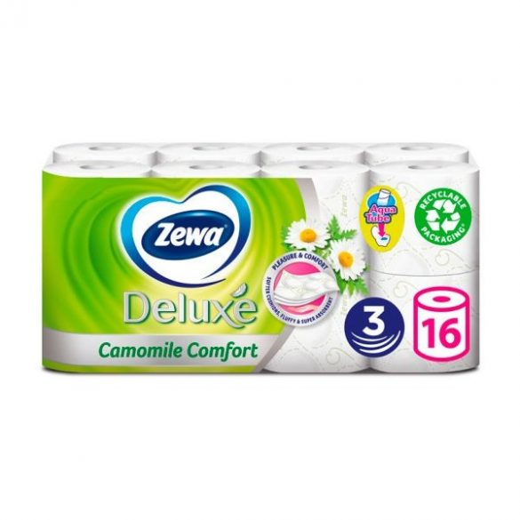 Zewa DELUX toalettpapír 16TK kamilla 3rétegű