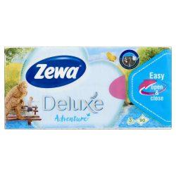 Zewa Delux papírzsebkendő 90db-os Water lilly
