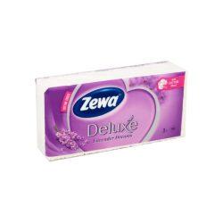 Zewa Delux papírzsebkendő 90db-os Levendula